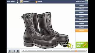How to Draw Boots