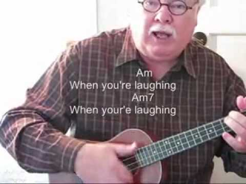 WHEN YOU\'RE SMILING for the UKULELE - UKULELE LESSON / TUTORIAL by ...