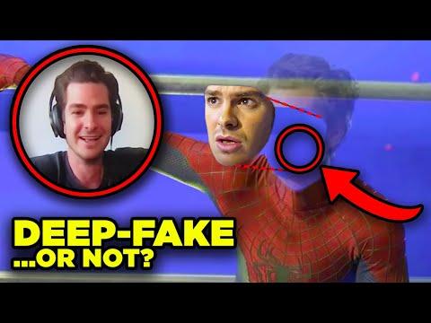 """SPIDERMAN NO WAY HOME Andrew Garfield """"Leak"""" Explained! (VFX Analysis)"""