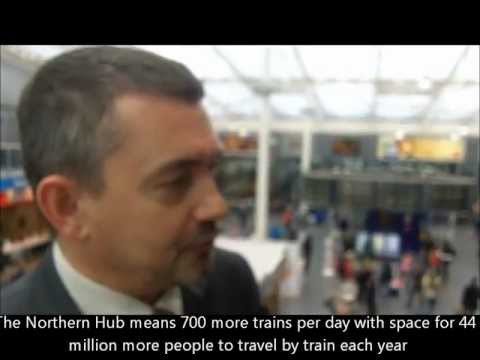 Marc Ramsbottom & Norman Baker MP: what the Nothern Hub means for Manchester.wmv