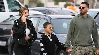 Scott Disick Brings Sofia Richie Along For His Daddy Time With Son Mason