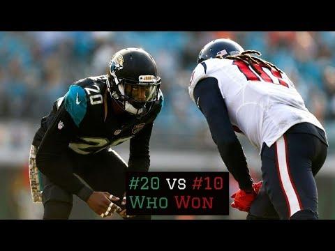 All 22 Film Breakdown || DeAndre Hopkins vs Jalen Ramsey || Texans vs Jaguars