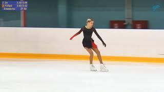 Мария ДМИТРИЕВА КП Кубок Санкт Петербурга 2021 1 этап Короткая Программа 3A 3T