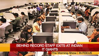 What's behind record staff exits at Indian IT giants?