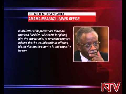 President Museveni fires 'super minister' Amama Mbabazi from cabinet