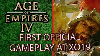 Age of Empires IV Gameplay to be shown at XO19
