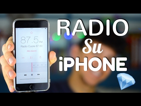COME AVERE LA RADIO SU IPHONE 😮😮