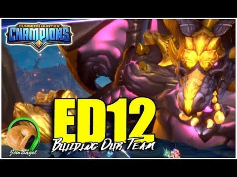 DUNGEON HUNTER CHAMPIONS: Building Our Elder Drake B12 Team!