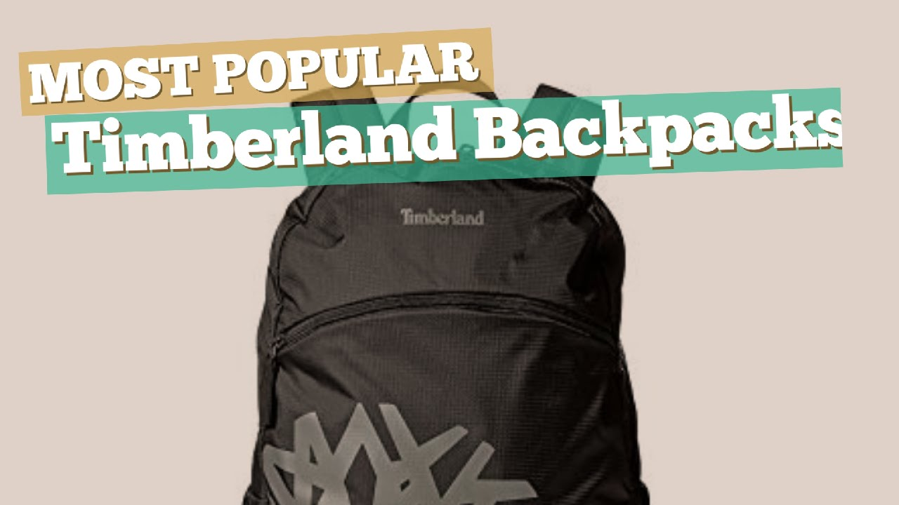 a4c5363160 Timberland Backpacks For Men    Most Popular 2017 - YouTube