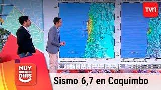 Christián Salazar aclara dudas sobre sismo en Coquimbo | Muy buenos días thumbnail