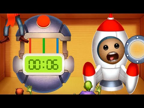 SPACE MISSION vs MEGA BOMB | Kick The Buddy | Bananos4kids