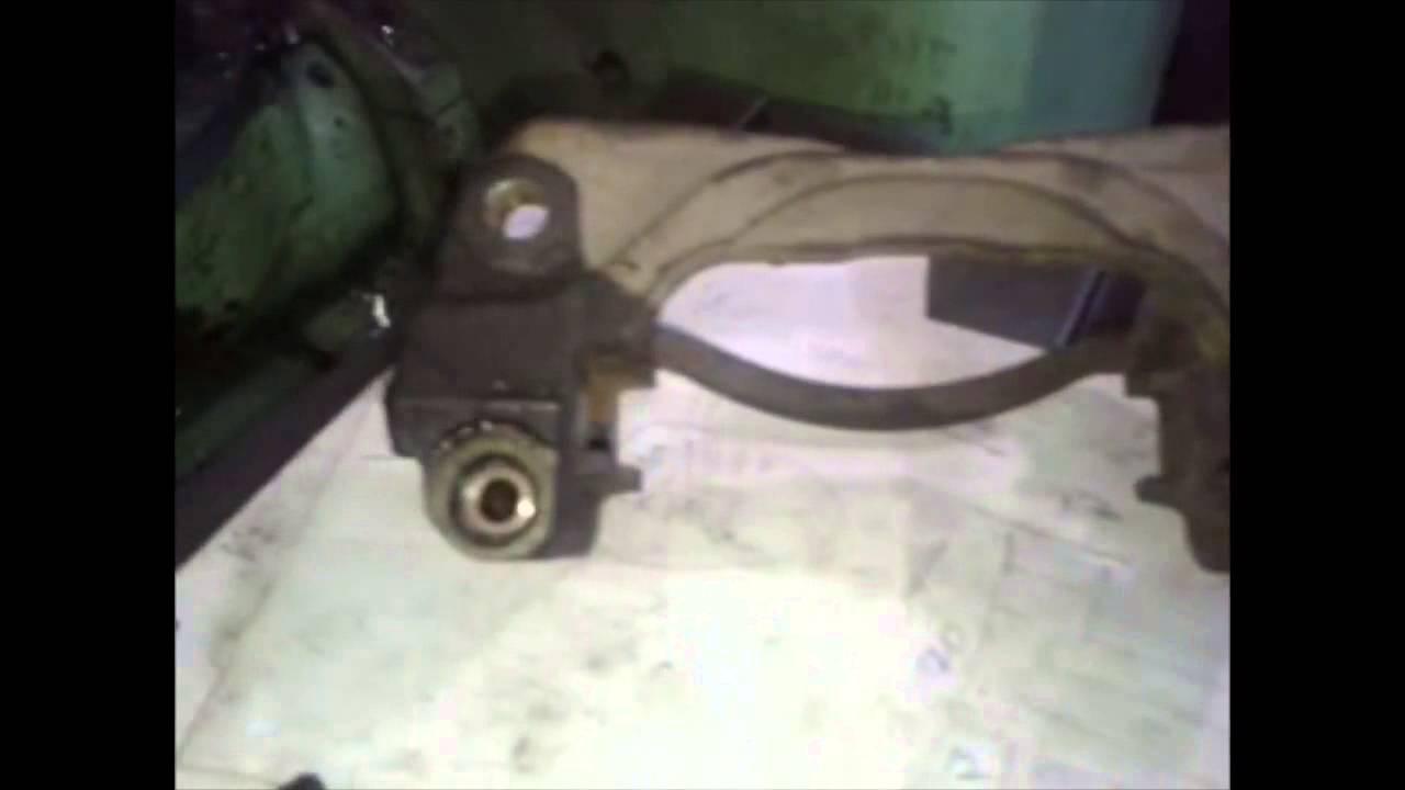 Ремонт скоб тормозных суппортов
