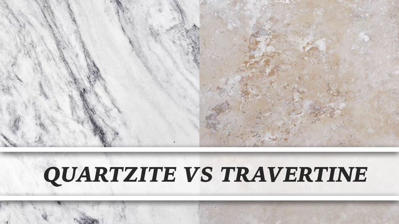 Quartzite Vs Travertine | Countertop Comparison. Marble TVChannel