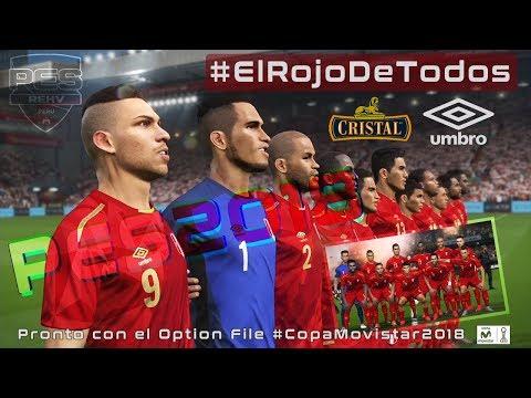 #ElRojoDeTodos | PREVIA DE LA TERCERA CAMISETA DE PERÚ #PES2018