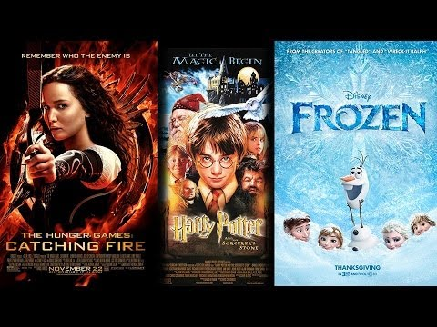 Harry Potter's Holiday Record Gets Gobbled By Catching 'Fire' & 'Frozen'