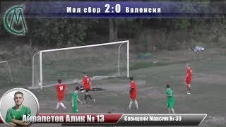 "Футбол ""Молодёжная сборная"" 3:2 ""Валенсия"" - Голы"