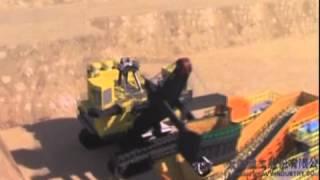 世界最大的礦用挖掘機在山西啟用