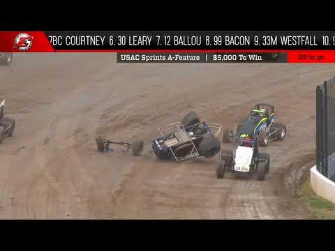 USAC National Sprint Feature Highlights | Eldora Speedway 5.12.18