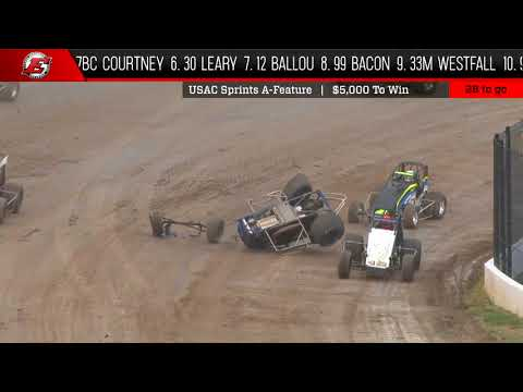 USAC National Sprint Feature Highlights | Eldora Speedway 5.12.18