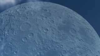 If The Moon Were At The Same Distance As The Iss
