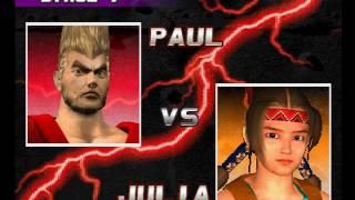 Tekken 3 ( PS1 ) - Paul - Arcade Mode - Original Music ( Jan 3, 2017 ) thumbnail