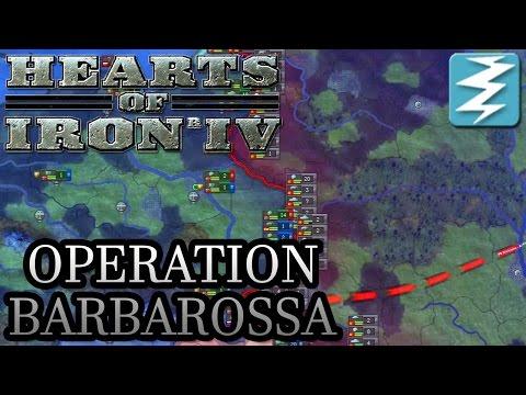 Invade the Soviet Union! Operation Barbarossa Tutorial - Hearts of Iron IV HOI4 Paradox Interactive |