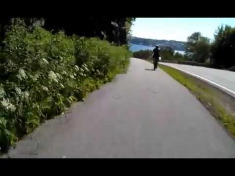 Bicycle trip in Sandnes, Norway