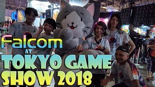Falcom at Tokyo Game Show (TGS) 2018 - jdk Band and Trails of Cold Steel IV