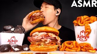 ASMR BIG KAHUNA ROAST BEEF &amp CURLY FRIES MUKBANG (No Talking) EATING SOUNDS  Zach Choi ASMR