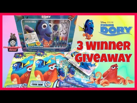 **CLOSED** GIVEAWAY!! Disney Finding Dory Activity Set, Color & Play Coloring Books   LTC