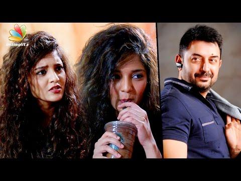 "Touch me, I""ll not judge you : Ritika Singh Interview about Aravind Swamy | Vanangamudi, ShivaLinga"