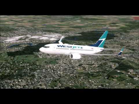 FSX/P3D Toronto-New York La Guardia Westjet 737[Vatsim]