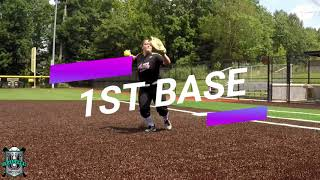Alexandra Hayeck NCAA Softball Skills Video Class of 2021 1st Base Pitcher