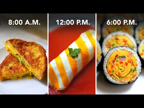 I Made Only Egg Recipes For A Day •Tasty