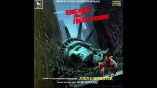Escape From New York Arrival At The Library Original 1981 Soundtrack Rendition