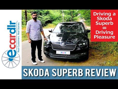 Skoda Superb Customer Review  Apuroop's back with a Superb Drive   Ecardlr (Part 1)