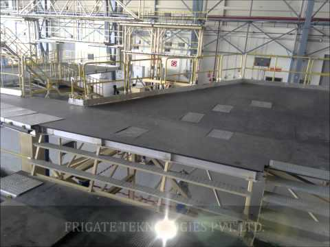 Aircraft Maintenance Docking System Narrow Body Without Aircrafts