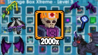 I OPENED 2000 DARK KING'S OFFERING AND THIS IS WHAT I GOT... | Growtopia