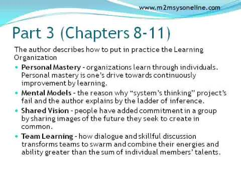 The Fifth Discipline Book Review - The Learning Organization