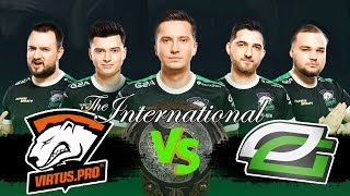 🔴ПЕРВЫЙ МАТЧ VIRTUS PRO НА THE INTERNATIONAL 2018 | VP vs OptiC TI8
