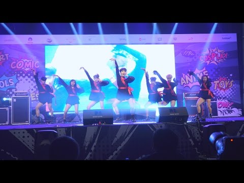 170421 AMUSE cover Dreamcatcher - Chase Me + GOOD NIGHT @ Thailand Comic Con Cover Dance 2017
