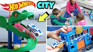 COSTRIUAMO LA NOSTRA HOT WHEELS CITY 🏙️: Attacco al Cobra