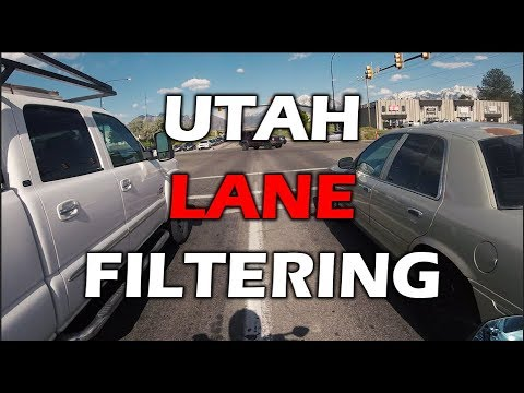 AJ - Motorcyclist Encounters Driver Unaware of Lane Filtering Law