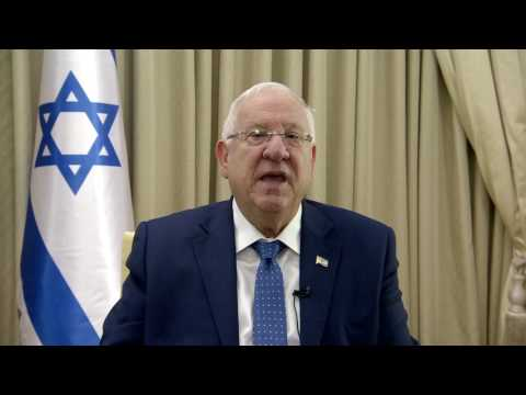 Happy Chinese New Year from President of Israel Reuven Rivlin