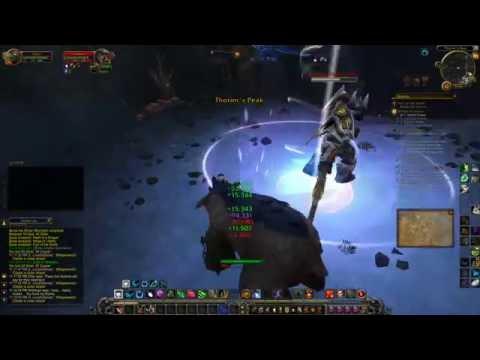 World of Warcraft - world PvP - Druid Typhoon