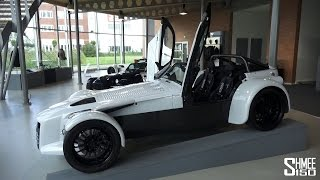 Donkervoort Factory Tour and D8 GTO Test Drive [X6 Tour Episode 05]
