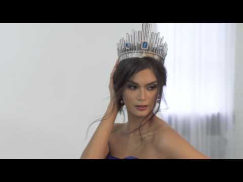 Pia's Final Photoshoot as Miss Universe