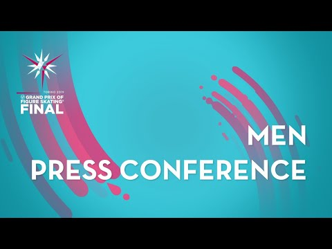 Press Conference: Men Free Skating | ISU Grand Prix Final | Torino 2019 | #GPFigure