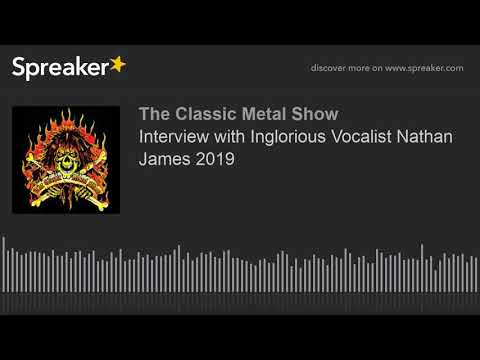 Interview with Inglorious Vocalist Nathan James 2019 Mp3