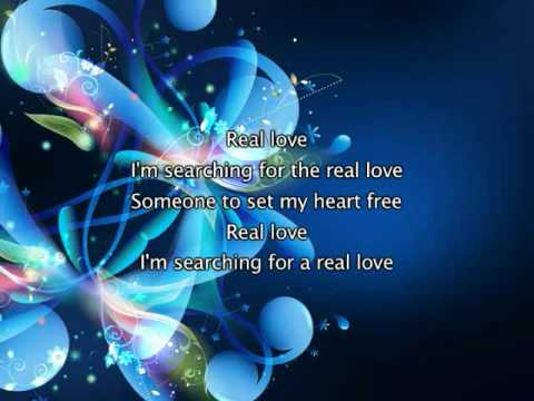 Mary J Blige - Real Love, Lyrics In Video
